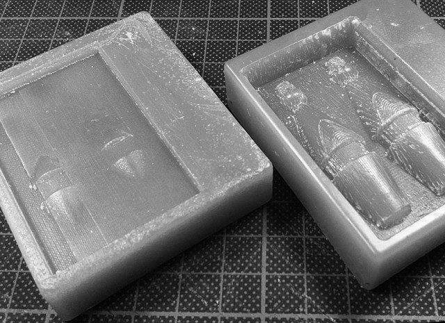 Arduino 3D CNC wax machining Test