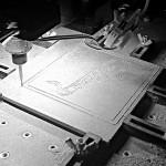 DIY Arduino CNC MDF engraving