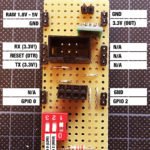 ESP8266 Programming Adapter Circuit Pinout